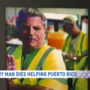 Family mourns father who died while helping restore power to Puerto Rico