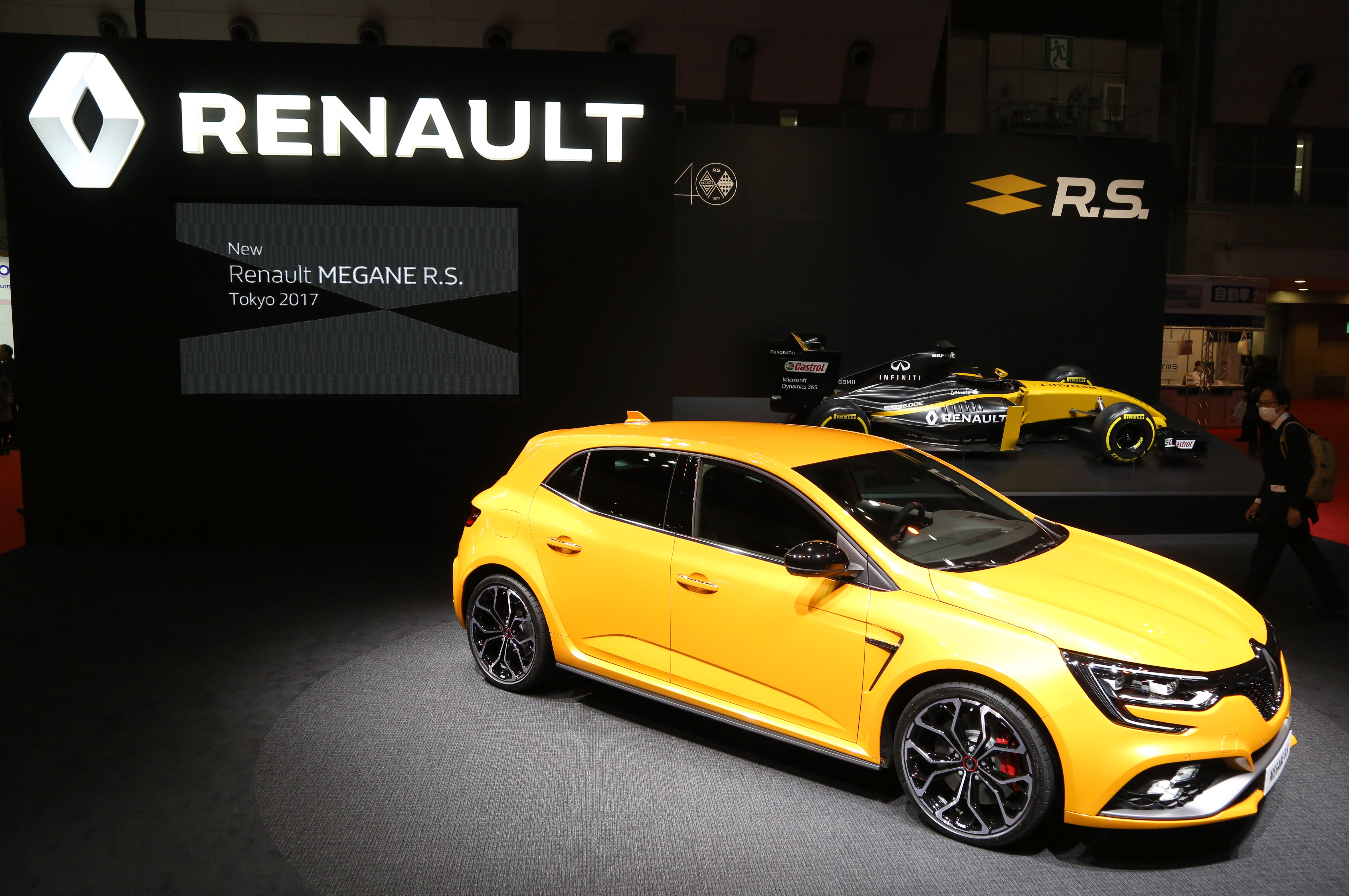 Tokyo Motor Show 2017  Featuring: Renault Where: Tokyo, Japan When: 25 Oct 2017 Credit: Yukio Tomita/Future Image/WENN.com  **Not available for publication in Germany**