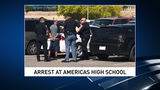 Domestic dispute between two men ends up at Americas High School campus