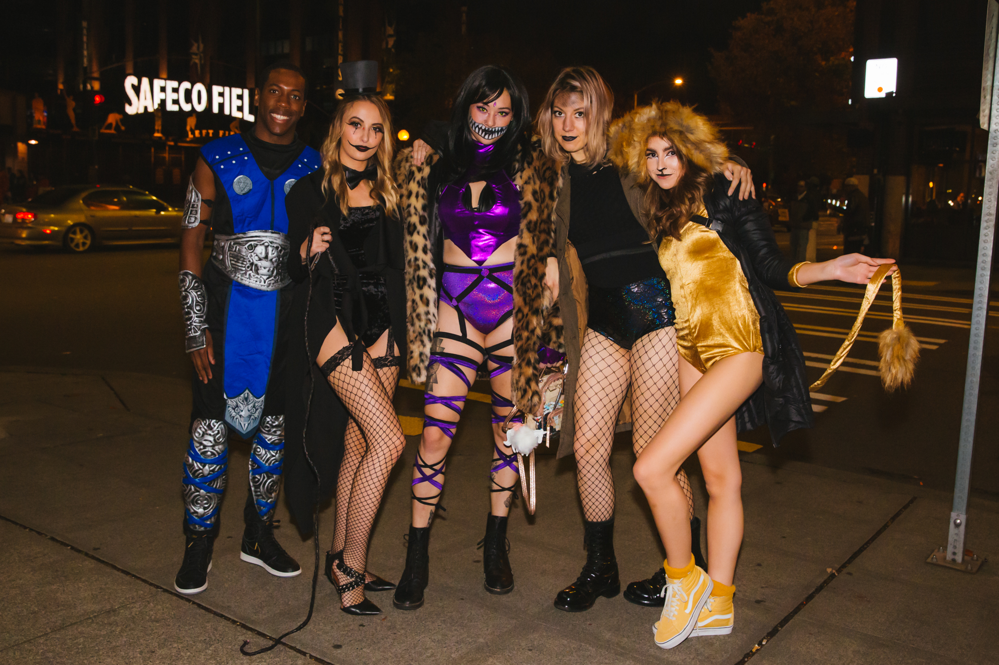 #3. FreakNight:{ }Thousands of people came to the WaMu Theater for the annual FreakNight Electronic Music Festival on Friday night, October 26 2018. The event brings out wildly costumed fans who dance the night away, go on rides and play carnival games. (Image: Sunita Martini / Seattle Refined)