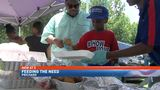 Local groups gather in Prichard to feed the homeless