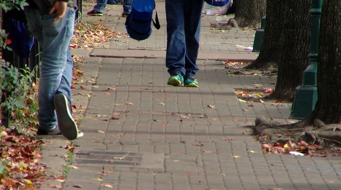 Thousands of families will lace up their sneakers on Thanksgiving morning to help other families get back on their feet. (Image: WTVC)