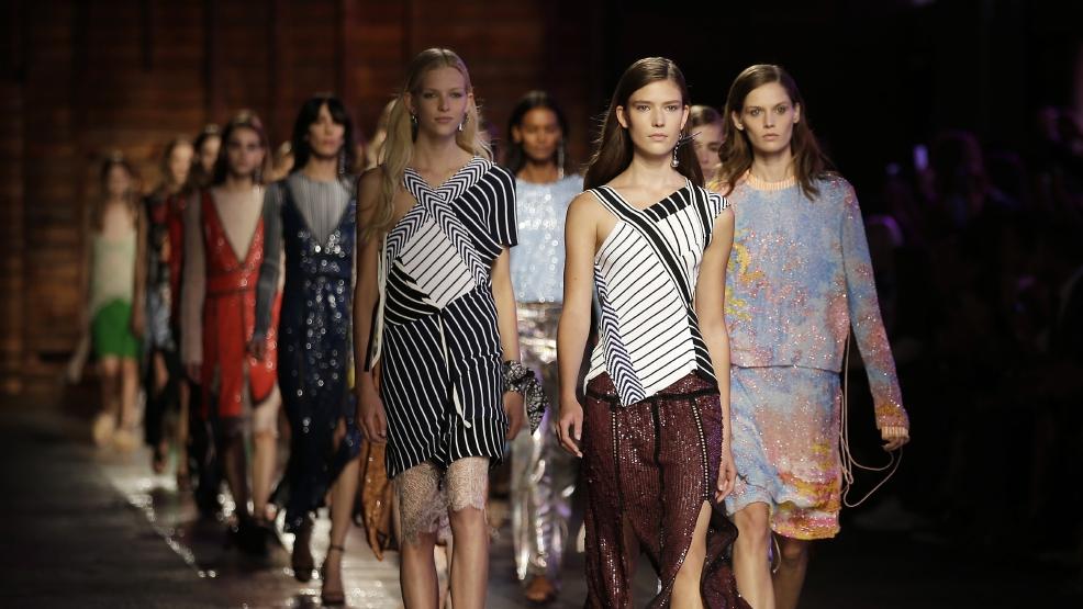 Milan Fashion Week Massimo Giorgetti Makes Pucci Debut Wjla