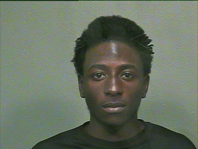 Steven Wallace, 20, was arrested in Dallas in connection to a Jan. 25 fatal shooting in Oklahoma City. Mug from a previous arrest. (Oklahoma County Jail)