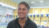 Olympic swimmer Elizabeth Beisel jumps into role of coach