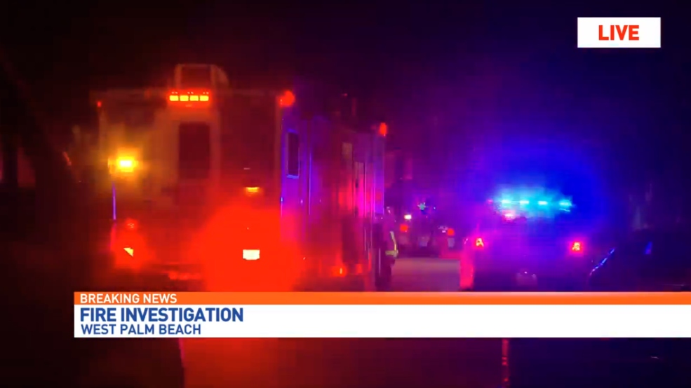 Crews Respond To House Fire In West Palm Beach Wpec