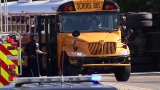 At least 23 kids injured in school bus crash during field trip