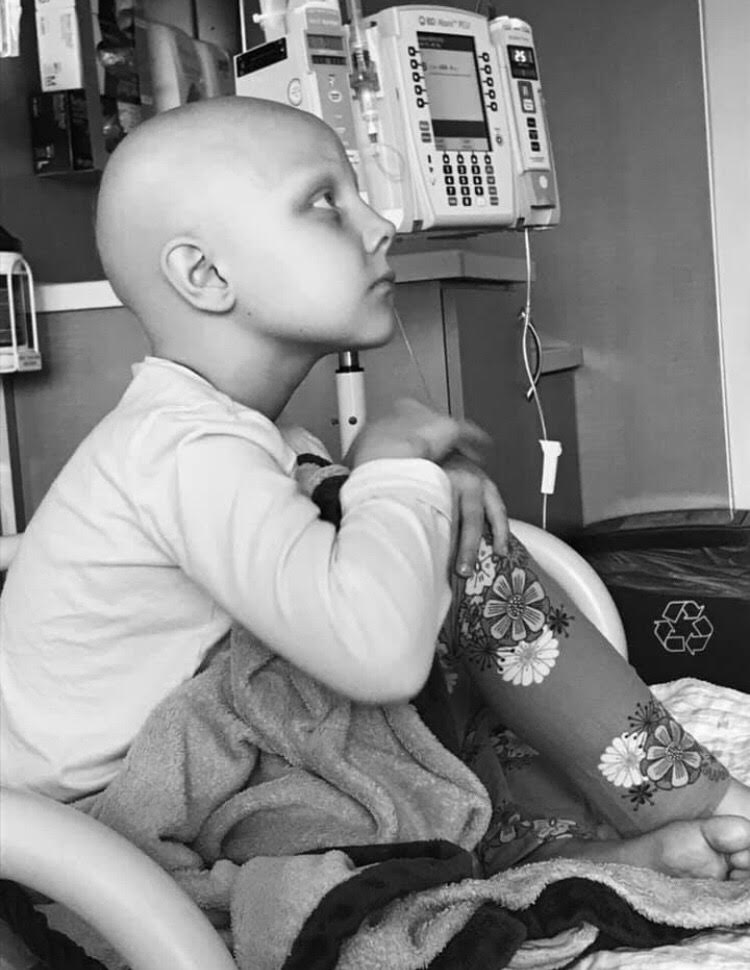 Kaylee Marshfield was dianogsed with Wilm's Tumor this year on her birthday, February first.{ }(Photo courtesy of Todd Marshfield)