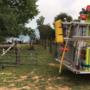 Firefighters battle barn fire in Collegedale