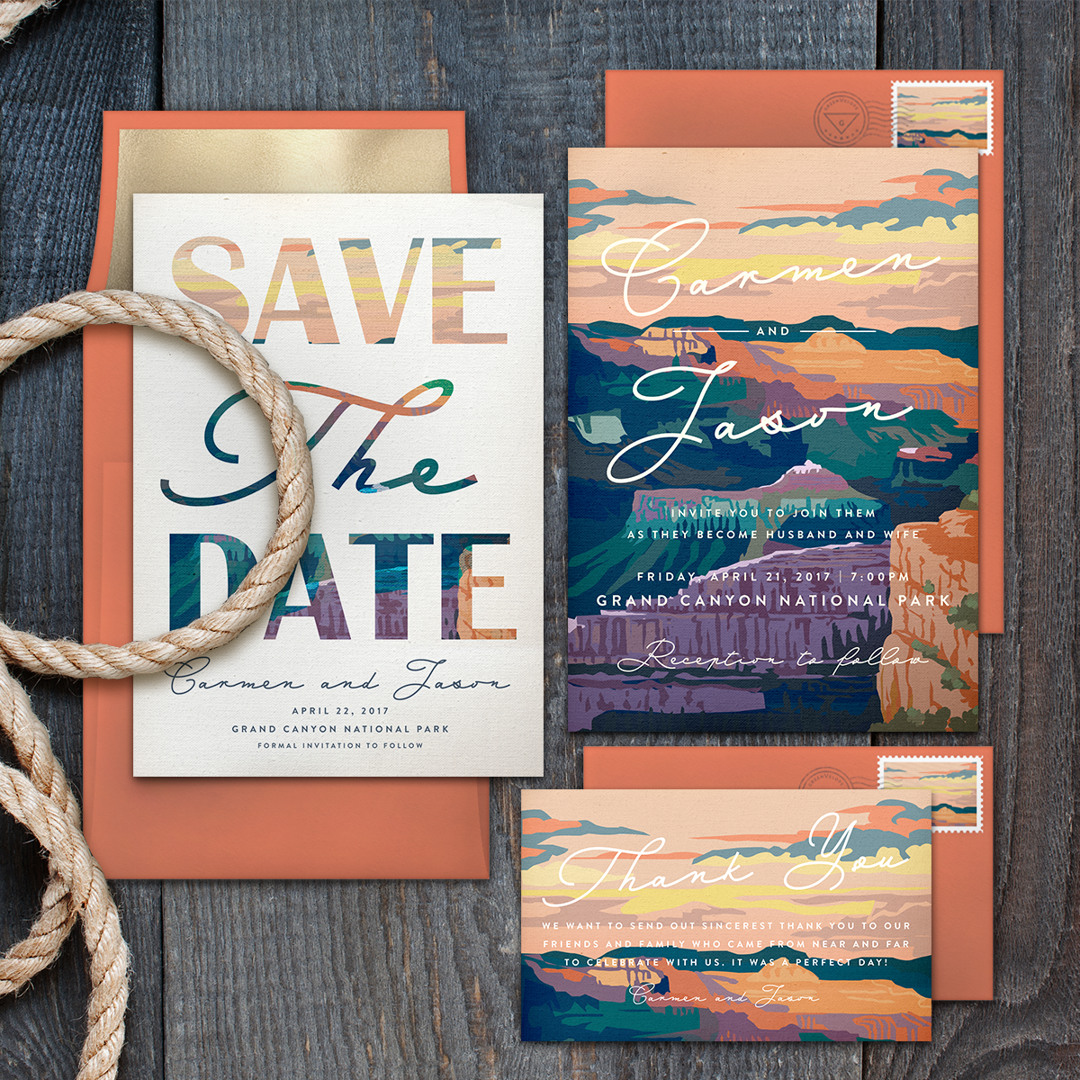 If you're in the market for wedding invitations, this local company may just change your life. Greenvelope is a local stationary company that makes paperless and customize-able wedding invitation suites. They recently partnered with the National Park Foundation to create invitations that were inspired by the landscapes that make up our national parks! Through the partnership, Greenenvelope will gift $5 of every purchase to the National Park Foundation. (Image courtesy of Greenvelope).