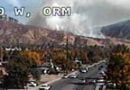 Fire breaks out near mouth of Provo Canyon udot (2).JPG