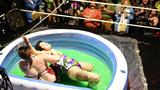 Photos: Halloween-themed jello wrestling is...exactly what it sounds like