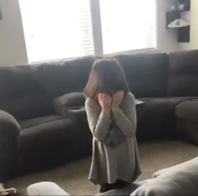 5-yr-old girl breaks down in tears after Joe Johnson trade (Photo: Kerdaddy/Twitter)