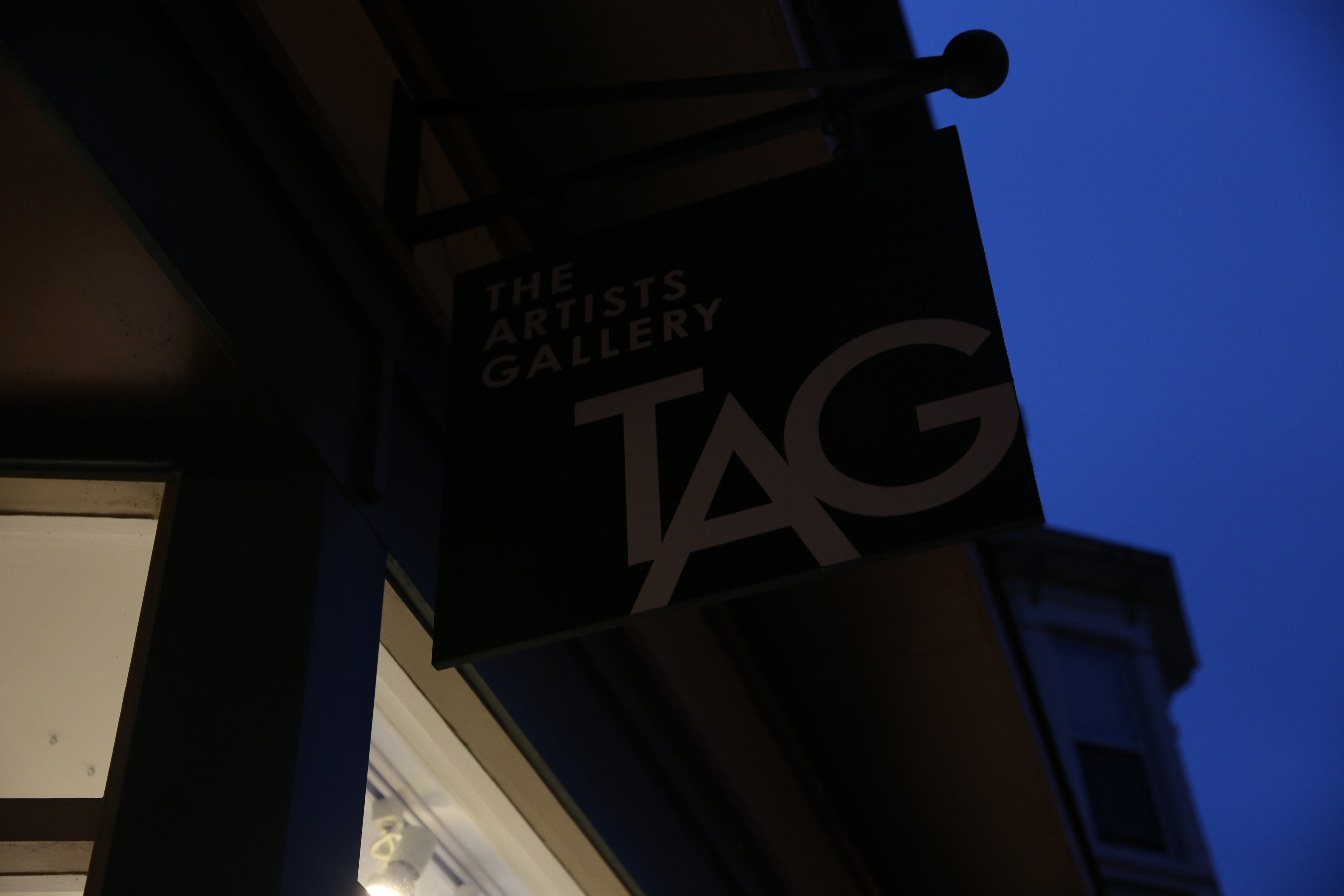 You'll find a number of galleries along North Market St, include TAG.{ } (Image: Amanda Andrade-Rhoades/ DC Refined)