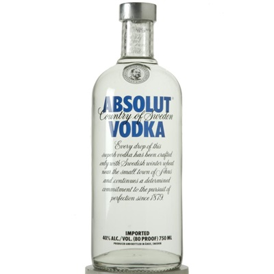 <p>Absolut Vodka</p>