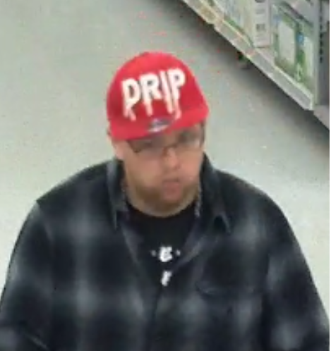 Columbus Police Division of Police is searching for a man accused of robbing a west Columbus Walmart on Sunday. (Columbus Police){&nbsp;}<p></p>