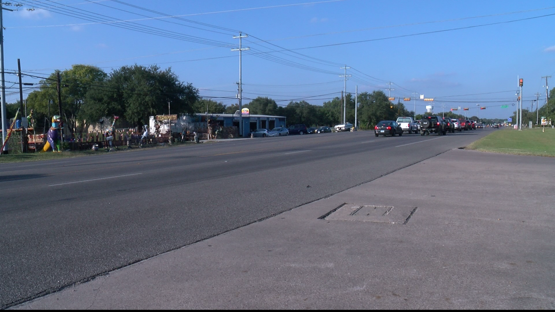 An Austin cyclist is recovering from being hit by a car on N FM 620. After the accident he was cited by Austin Police for riding on the shoulder. (CBS Austin)