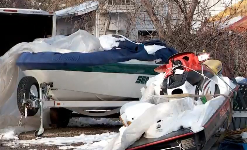 Police said hundreds of thousands of dollars worth of trailers, boats, jet skis, and cars were found in Salt Lake City (Photo: Ginna Roe/ KUTV)