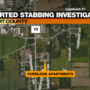 One person sent to hospital after reported stabbing at Elkhart County Overlook Apartments