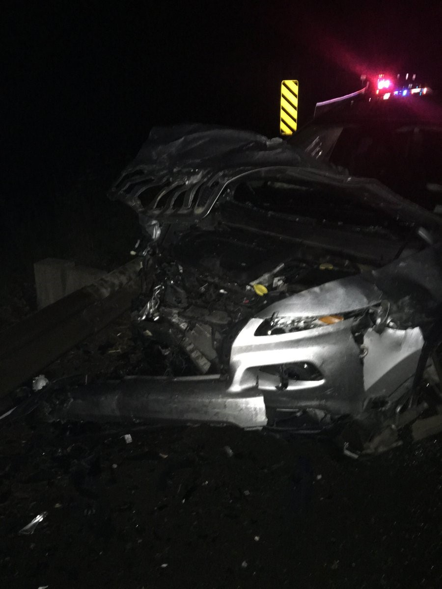 A woman was killed and another woman was injured in a crash on State Route 18 near Tiger Mountain Summit Wednesday afternoon, Dec. 13, 2017. (Photo: Washington State Patrol)