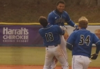 Bulldogs celebrate the walk-off win (WLOS Staff).jpg