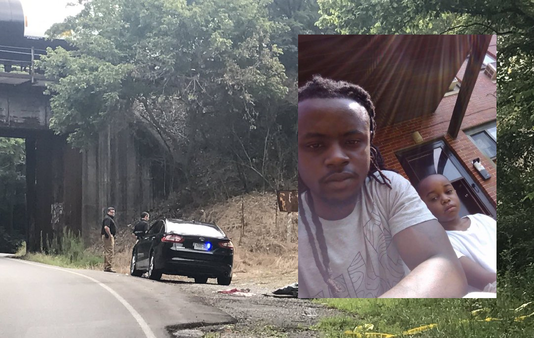 Chattanooga Police say investigators found the body of Deonte James inside a vehicle on Lightfoot Mill Road Tuesday night. (Images courtesy family members, WTVC)