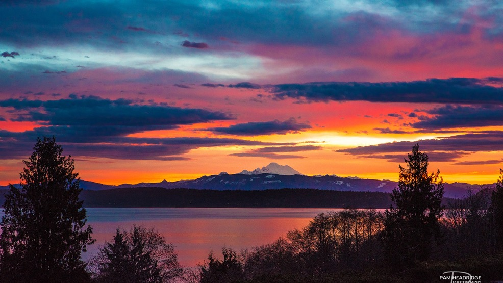 Photos: Spectacular sunrise graces Northwest skies