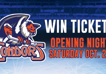 Bakersfield Condors Opening Night Ticket Contest