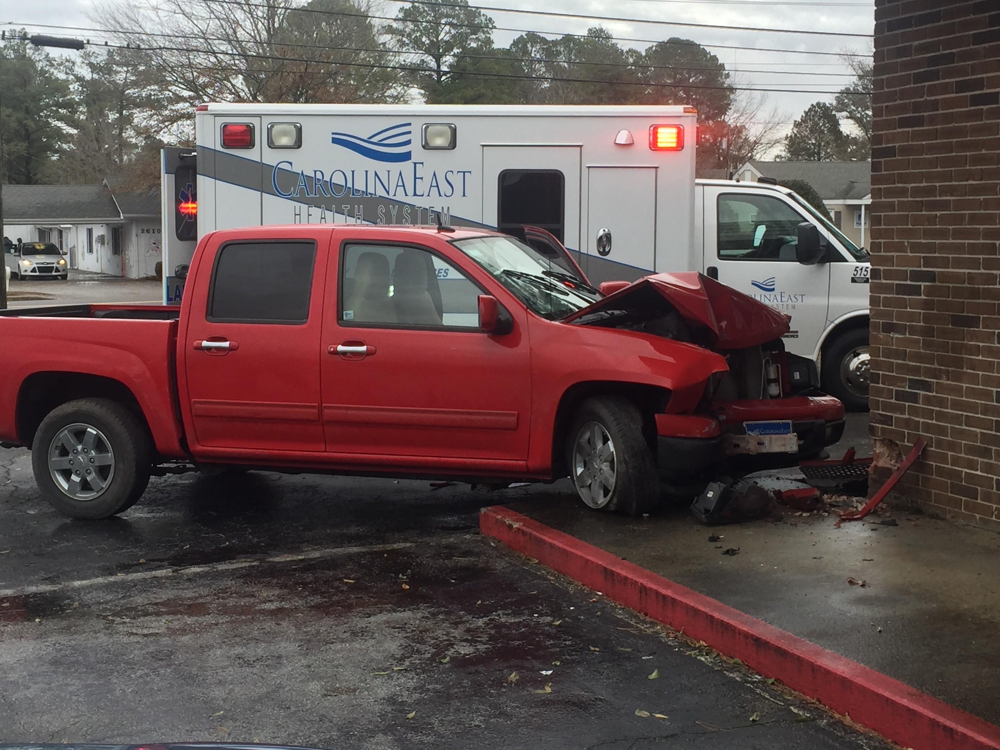 A driver suffering from a diabetic episode crashed into World Fashions clothing store on Neuse Blvd early January 23, 2018.<p></p>