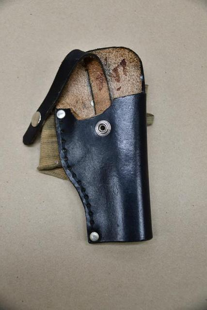 The ankle holster police say was in Keith Lamont Scott's possession at the time of the shooting. (Charlotte-Mecklenburg Police Department)