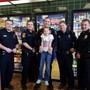 Young girl has big dreams of becoming a police officer one day