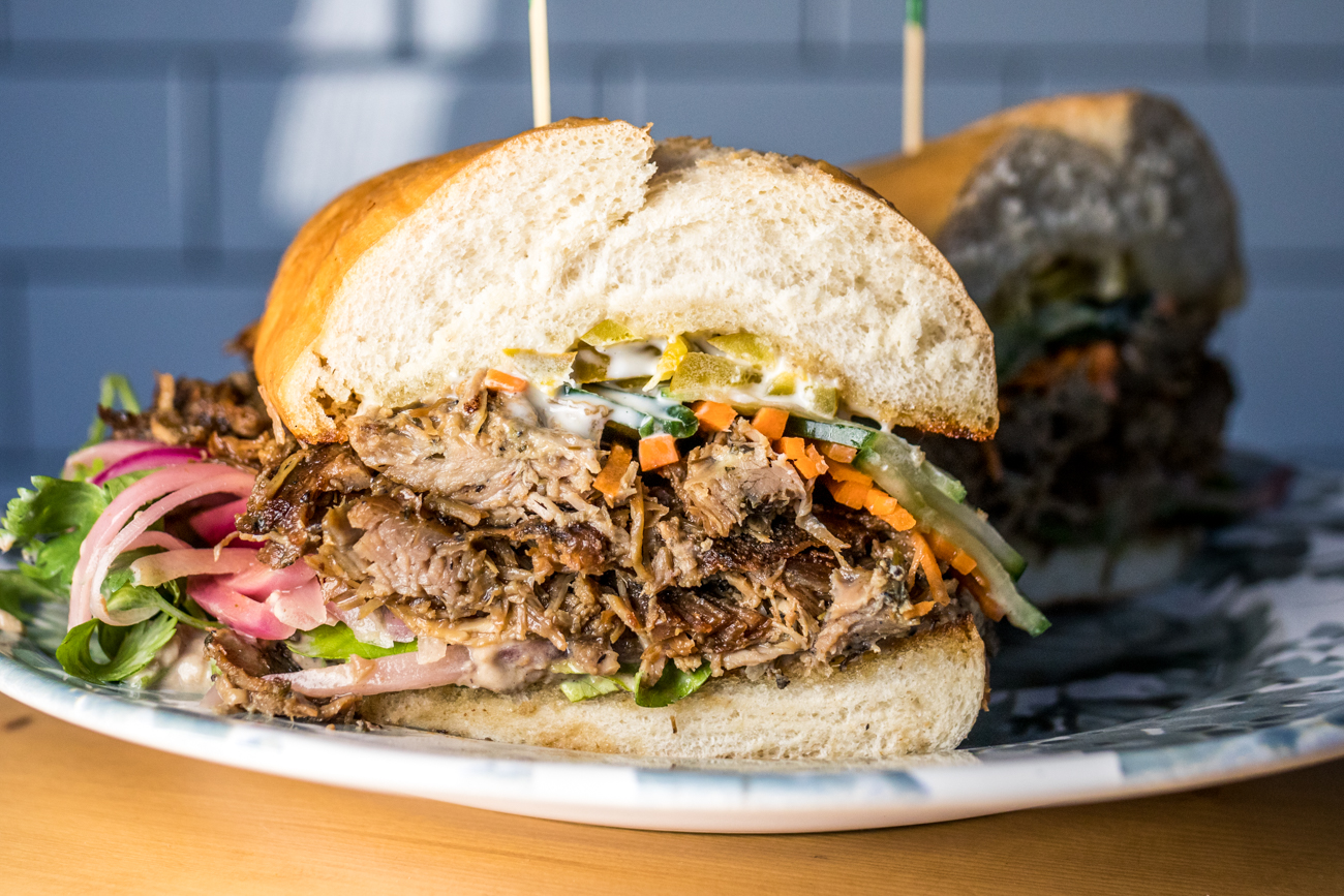 A Daily Special: Duck Confit Bahn Mi / Image: Catherine Viox{ }// Published: 7.3.20