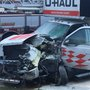 Major crash involving VIA shuttle and U-haul truck sends seven people to hospital