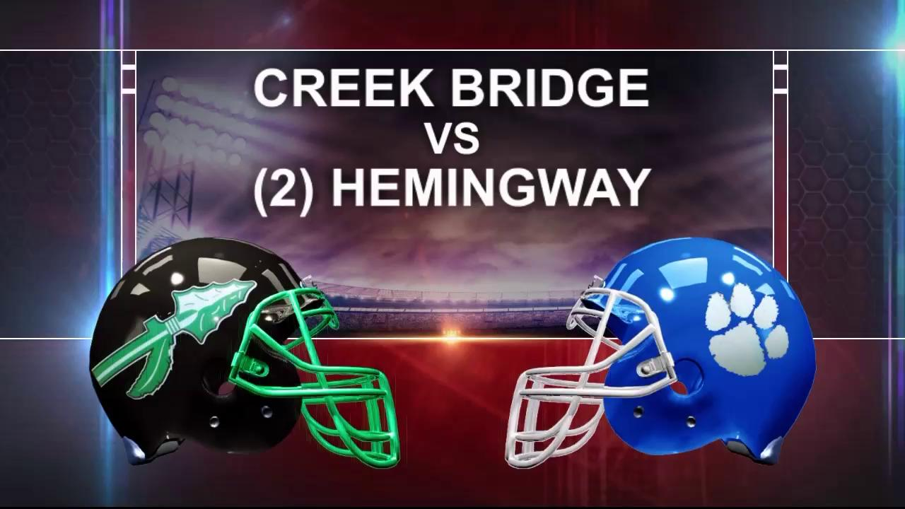 CREEK BRIDGE VS. HEMINGWAYThumbnail