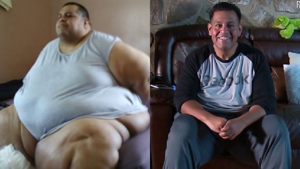 Man loses 500 pounds using weight loss app (CNN Van video)