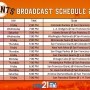 2017 BROADCAST SCHEDULE: Giants baseball on My21 TV