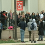 Teachers walk out of Anacostia High School to protest lack of running water, restrooms