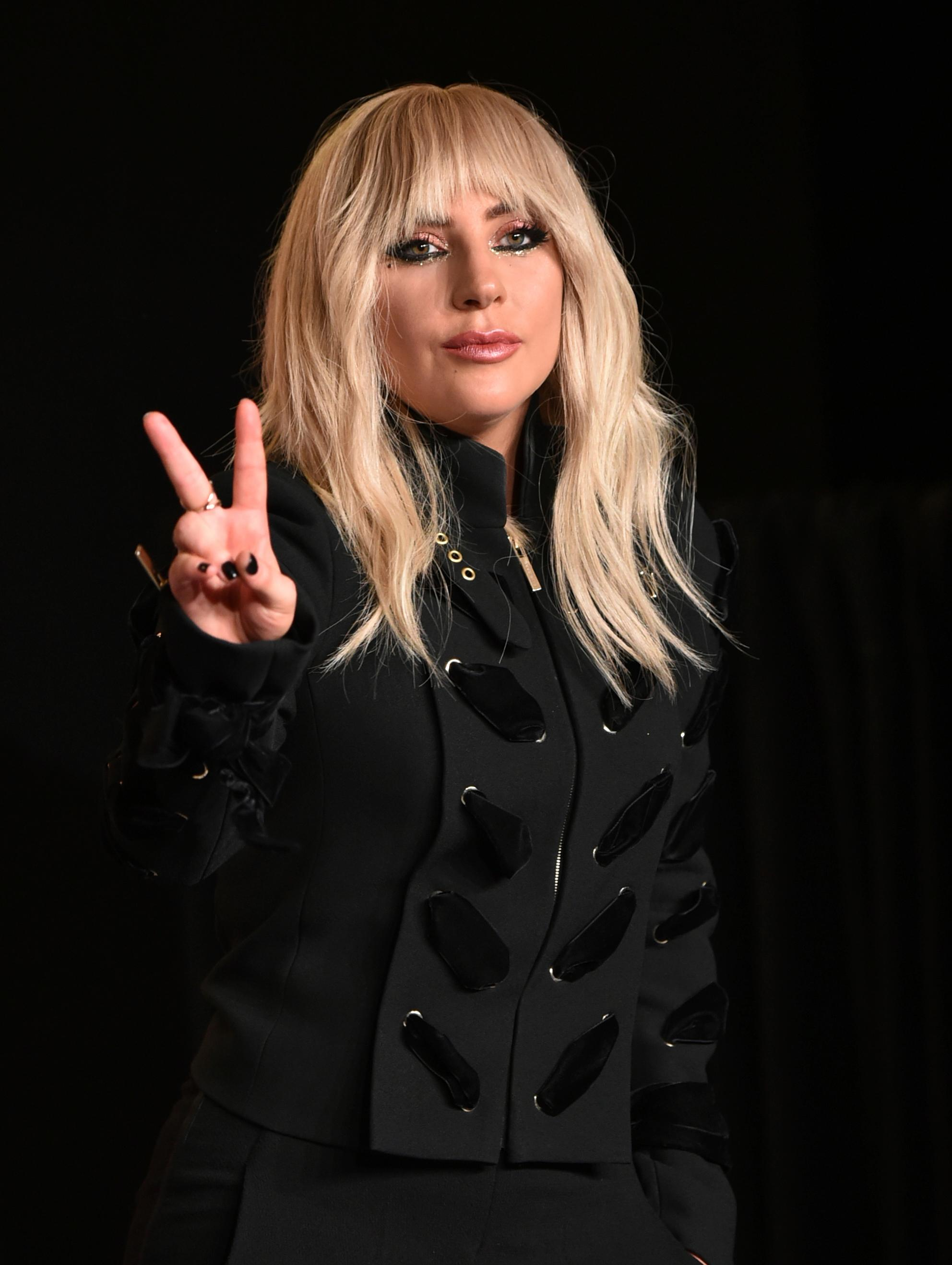 "Lady Gaga attends a press conference for ""Gaga: Five Foot Two"" on day 2 of the Toronto International Film Festival at the TIFF Bell Lightbox on Friday, Sept. 8, 2017, in Toronto. (Photo by Evan Agostini/Invision/AP)"