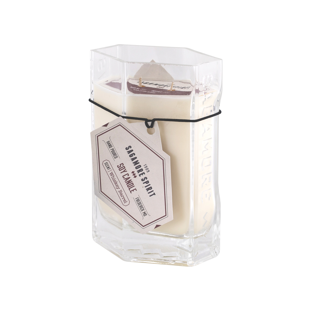 Whiskey Barrel Scented Candle from Sagamore Spirit // Price: $25.99 // Buy online // www.sagamorespirit.com // (Image: Sagamore Spirit)<p></p>