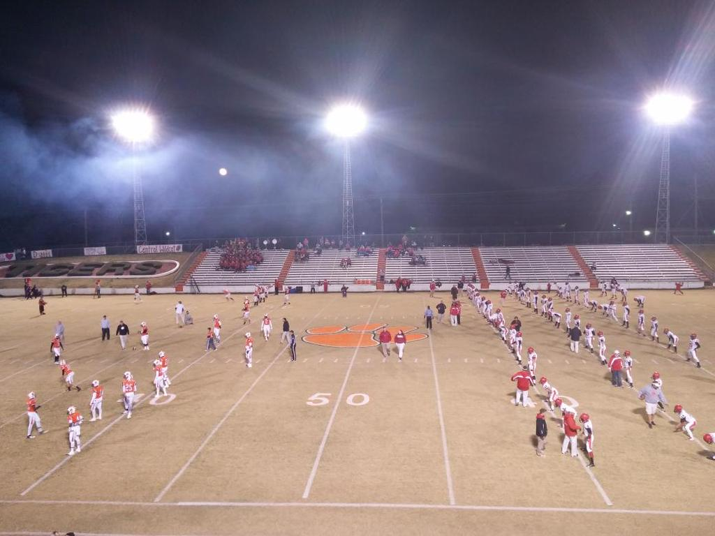 Pregame of Fayette County's first-round playoff matchup against Central-Florence, Friday, Nov. 7, 2014.