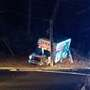 U-Haul crashes into utility pole in Asheville