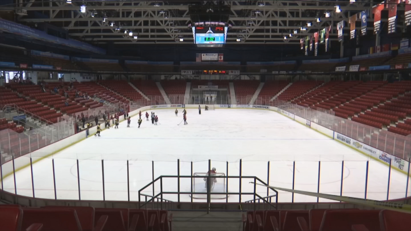 The Lake Placid Olympic Museum celebrates the village's rich history with the Winter Games. (WJAR)
