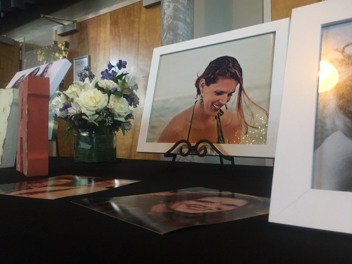 Family and friends remembered Erin Van Horn and her son, Zachary, Tuesday at a joint funeral in Edmond.  The two died along with two others in a July 17 crash near Purcell. (KTUL)