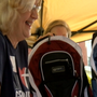Quincy Alderman collects hundreds of backpacks for kids with community support
