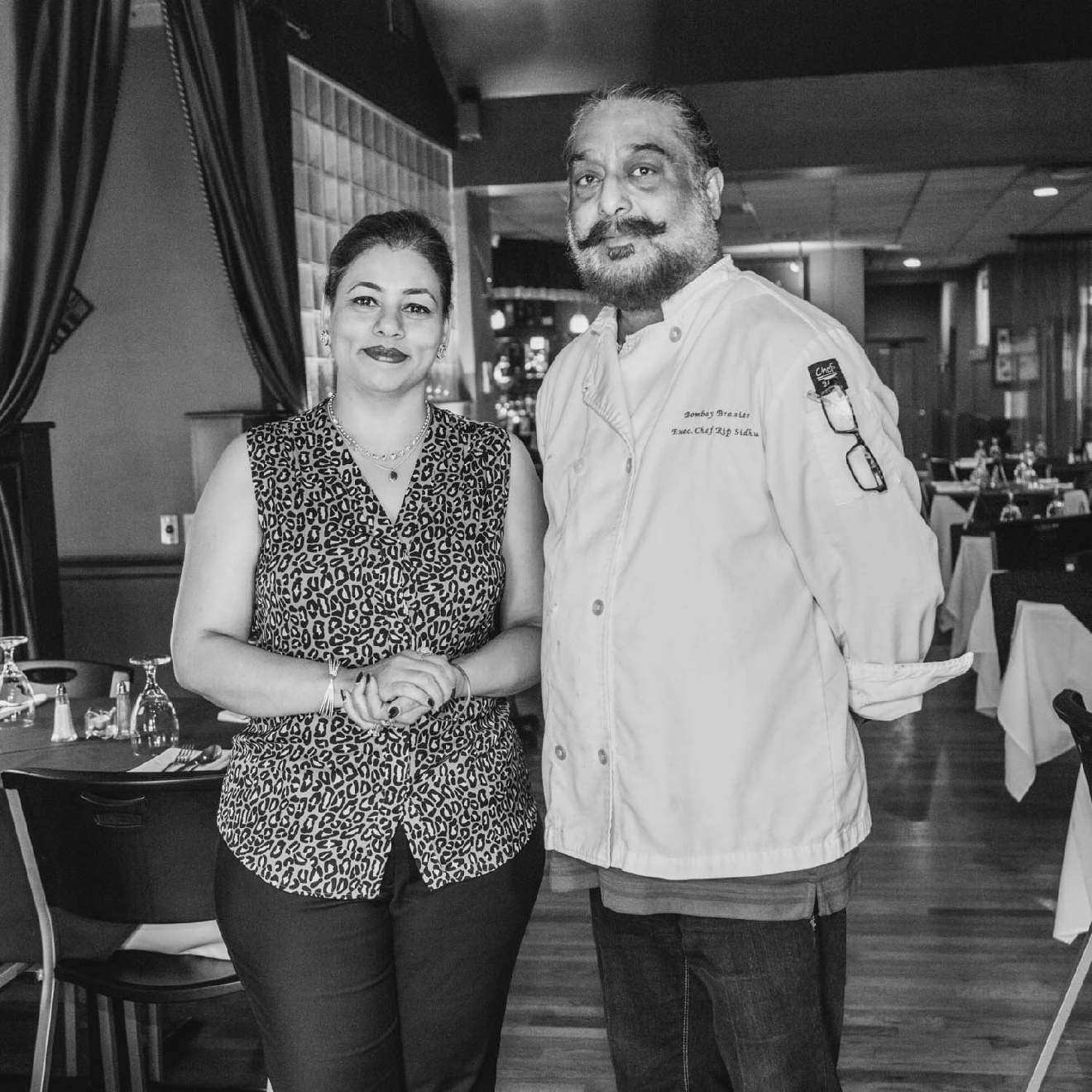 G. Sidhu (Manager) and Rip Sidhu (Chef) / Image: Catherine Viox / Published: 11.4.16