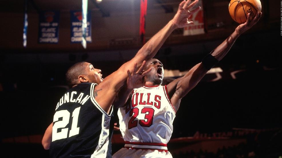 喬神98年不退役或4連冠?99年總冠軍賽Duncan太年輕難敵飛人