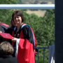 Dr. Linda Schott leads first graduation ceremony at Southern Oregon University