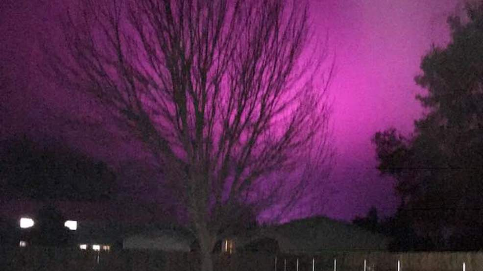 The Mystery Of Glowing Pink Sky Is Solved