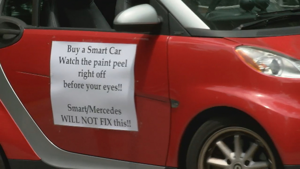 7 ON YOUR SIDE tackles peeling plastic problem in SMART cars | WJLA