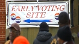Huge crowds turn out for first day of early voting in Maryland